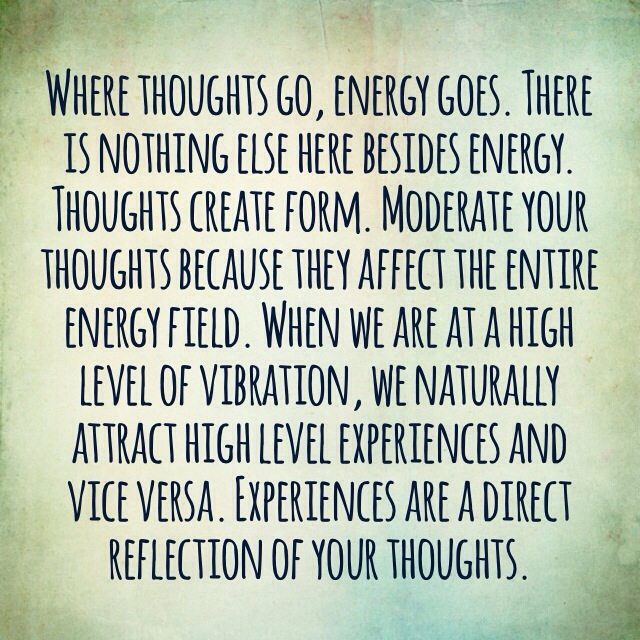 raising my vibrational frequency
